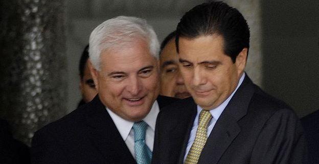 Präsident Martinelli und sein Vorgänger