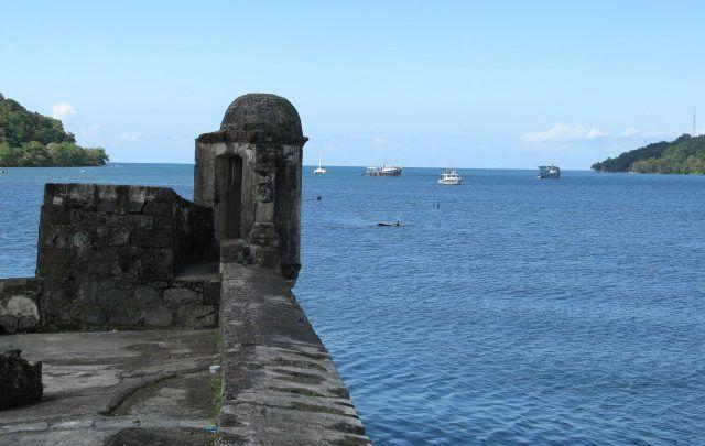 Bucht von Portobelo