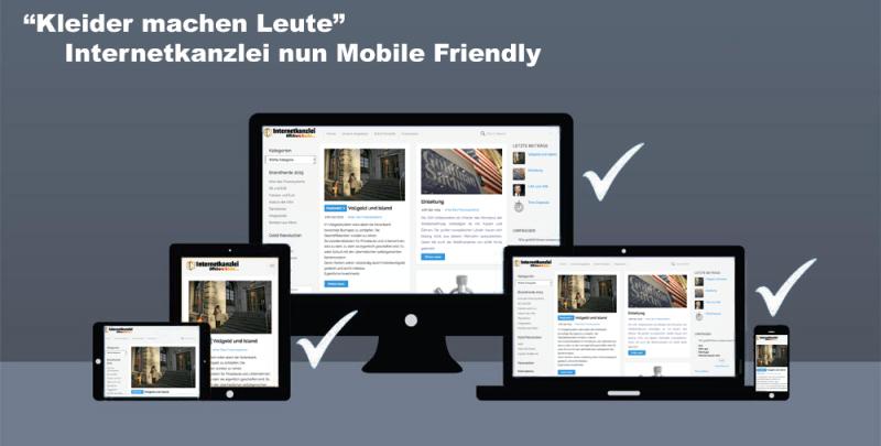 Internetkanzlei ist nun 100% Mobile friendly